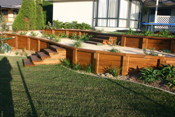 retaining walls dapto
